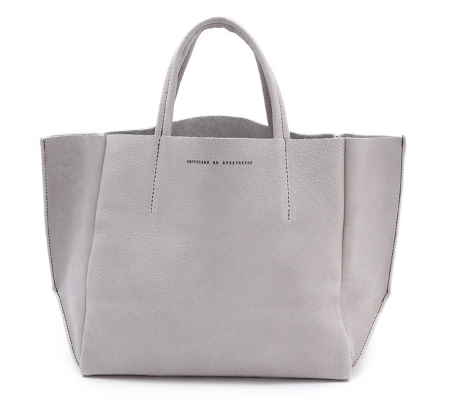ONE by Ampersand as Apostrophe Half Tote Grey