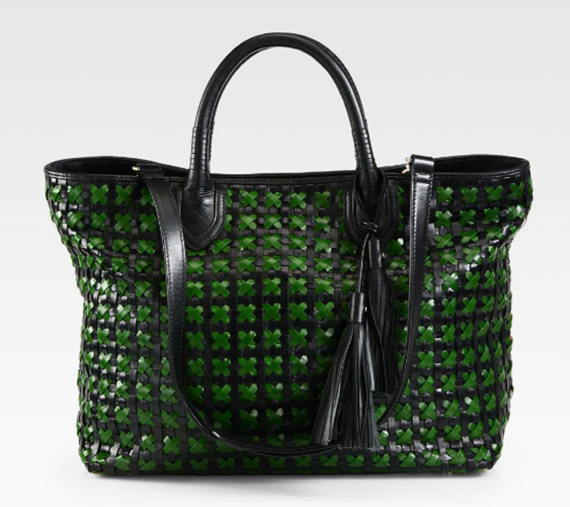 Rebecca Minkoff Woven Leather Perfection Tote