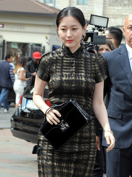 The Many Bags of Celebs at Milan Fashion Week (2)
