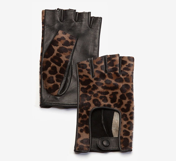 Agnelle Haircalf Driving Gloves