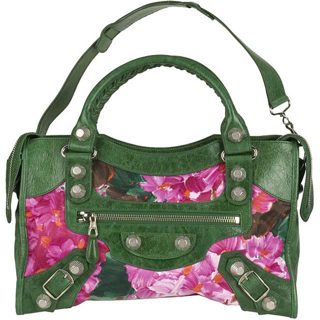 Balenciaga Floral City Bag