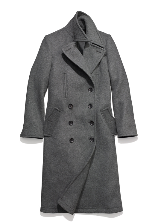 Coach Wool Fitted Basic Coat