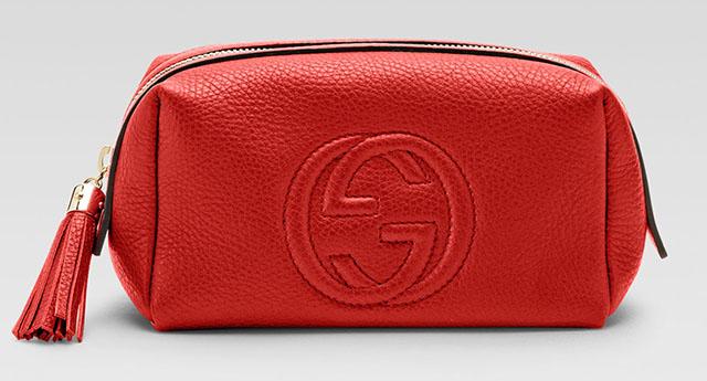 Gucci Soho Medium Leather Cosmetic Case