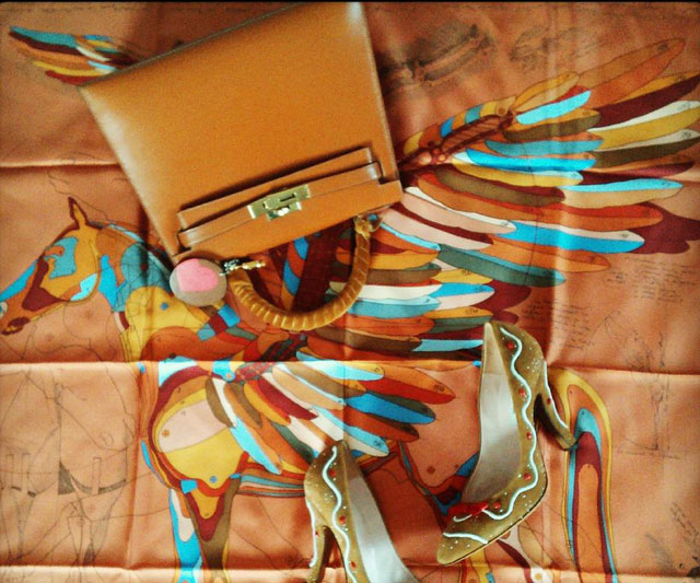 Hermes Trio with Kelly Bag