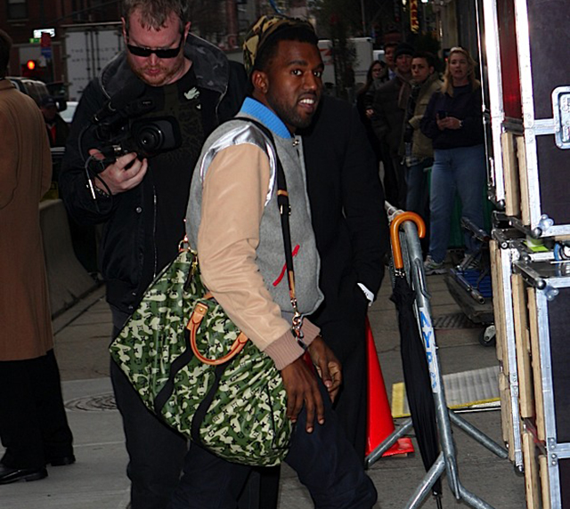 Kanye West Louis Vuitton Camouflage Bag