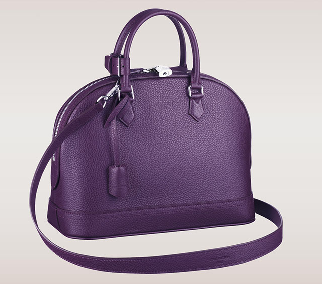 Louis Vuitton Alma PM Taurillon Purple