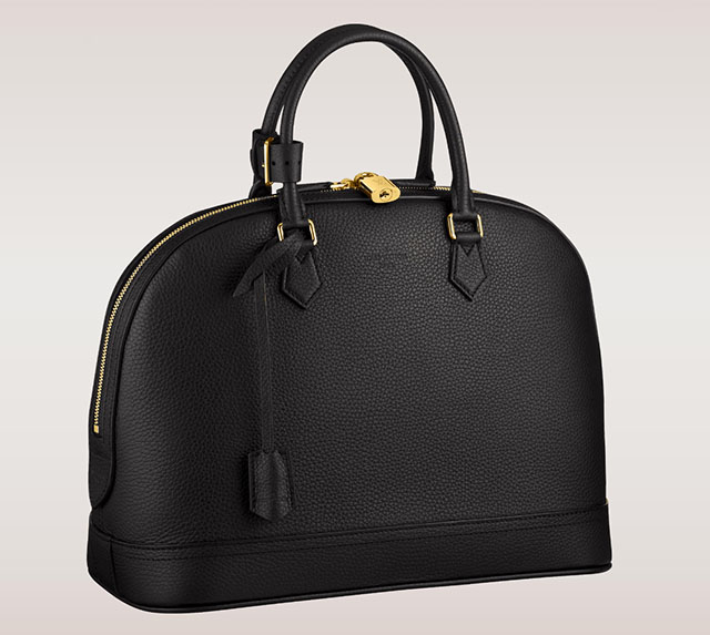 Louis Vuitton Alma Taurillon MM Black