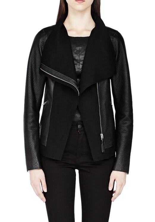 Mackage Armada Black Leather Jacket