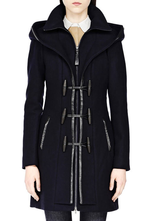 Mackage Steffy Navy Wool Duffel Coat