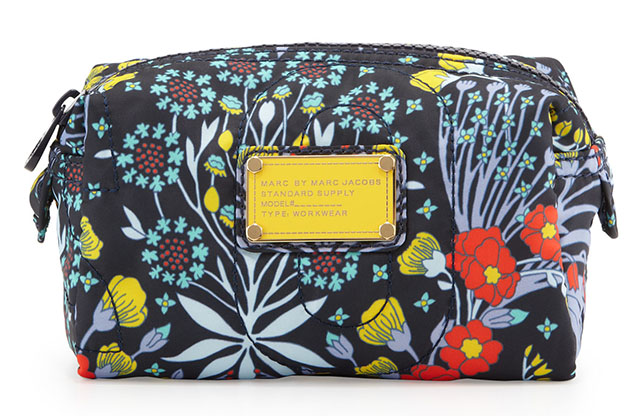 Marc by Marc Jacobs Nylon Maddy Botanical Cosmetic Case