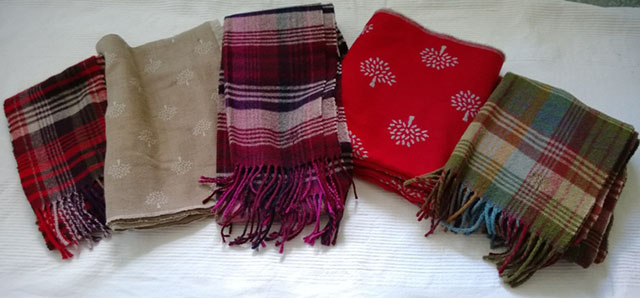 Mulberry Scarves