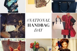 National Handbag Day Instagram