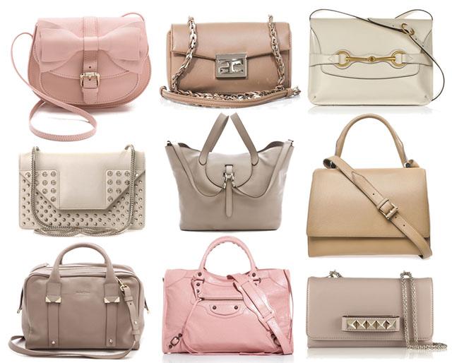 Pale Handbags
