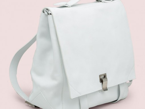 Proenza Schouler PS Large Backpack White