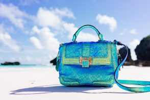 A Day at the Beach with the Rebecca Minkoff Iridescent Elle Bag