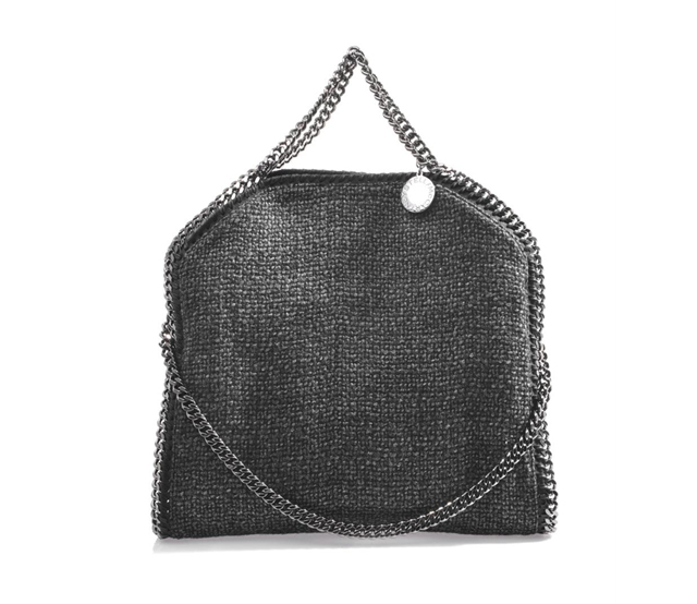 STELLA MCCARTNEY Falabella tweed shoulder bag