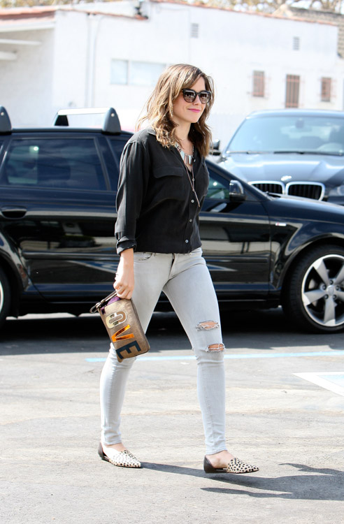 Sophia Bush carries bags from 3.1 Phillip Lim for Target and Lanvin (4)