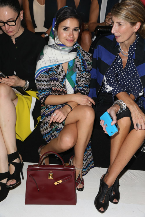 The Many Bags of Celebs at Paris Fashion Week Spring 2014-5