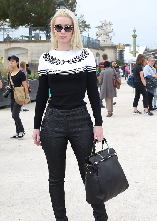 The Many Bags of Celebs at Paris Fashion Week Spring 2014-9