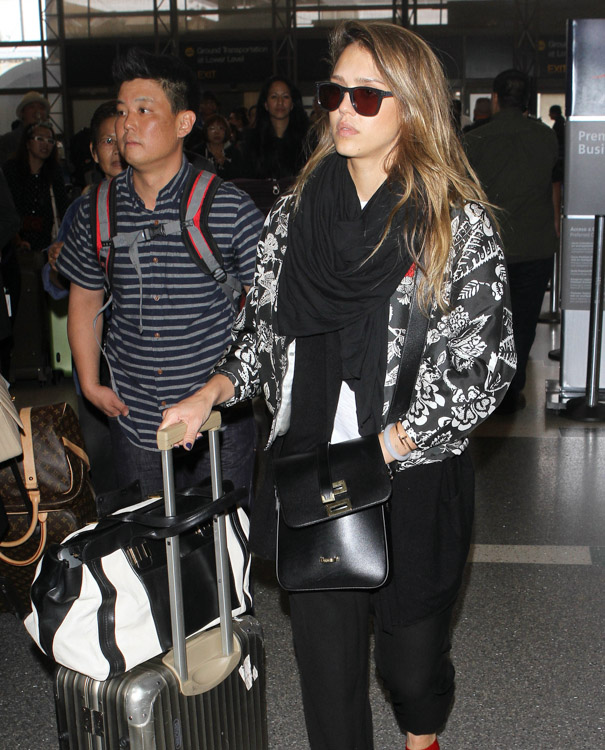 chloe replica wallet - The Many Bags of Jessica Alba, Part Two - PurseBlog