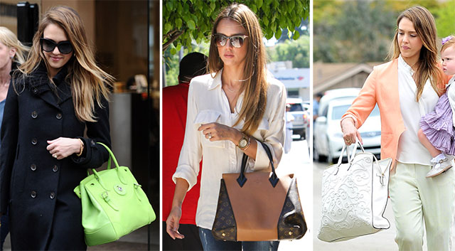 The Many Bags of Jessica Alba Part Two