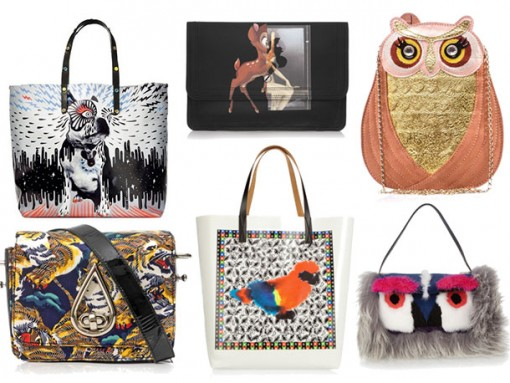 Animals Printed on Handbags