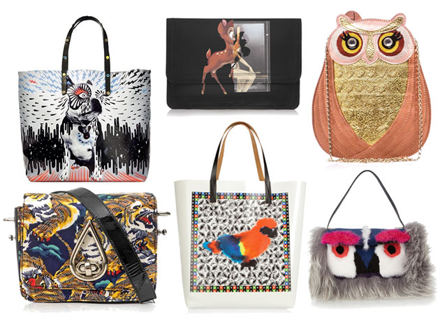 Animals Printed on Handbags