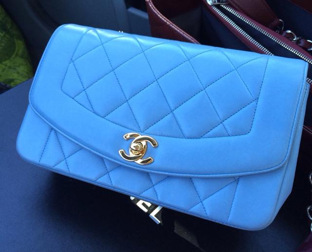 Chanel Blue Flap Bag