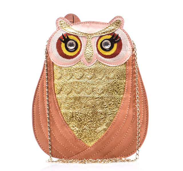 Charlotte Olympia Owl Shoulder Bag