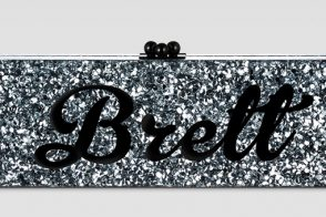 Edie Parker's Nameplate Clutches Now Available to Everybody
