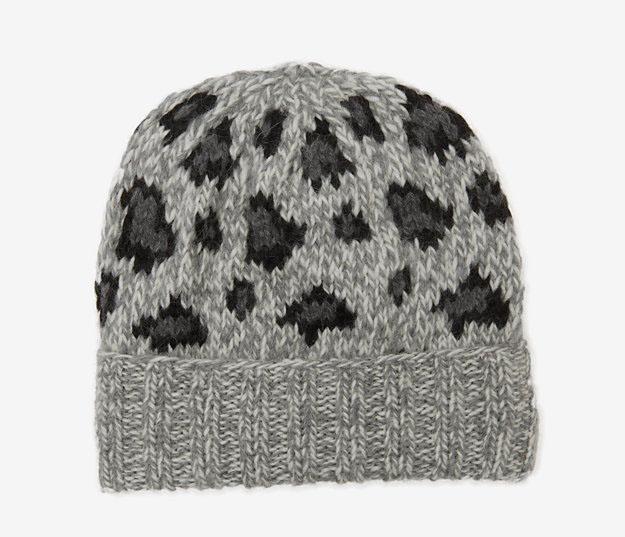 Eugenia Kim Leopard Knit Beanie