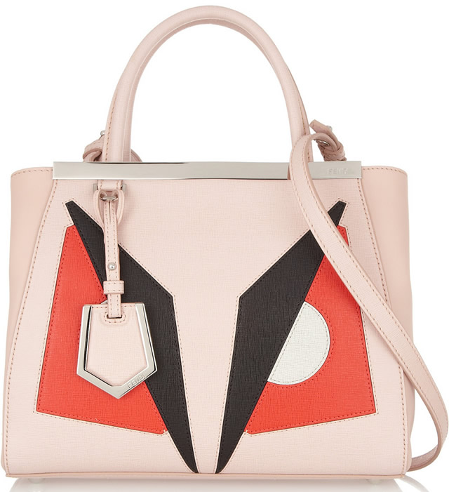 Fendi 2Jours Small Shopper Pink