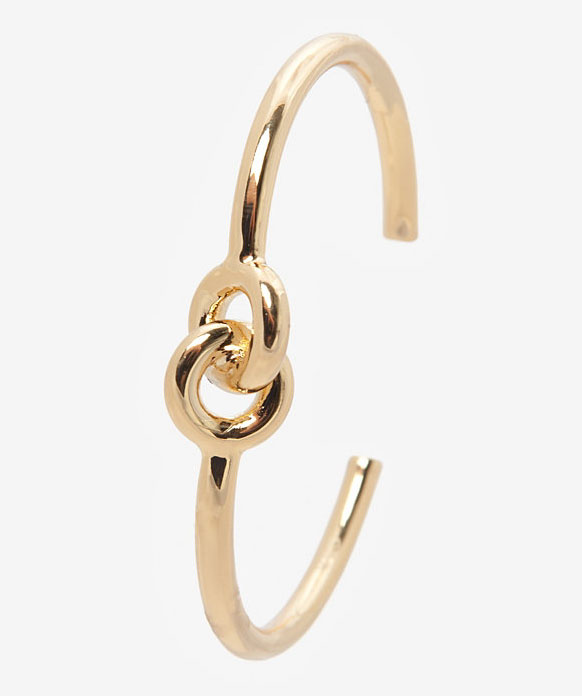 Giles and Brothers Interlocked Rings Cuff Bracelet