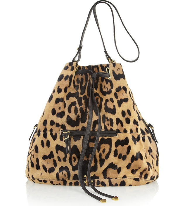 Jerome Dreyfuss Alain Calfhair Bucket Bag