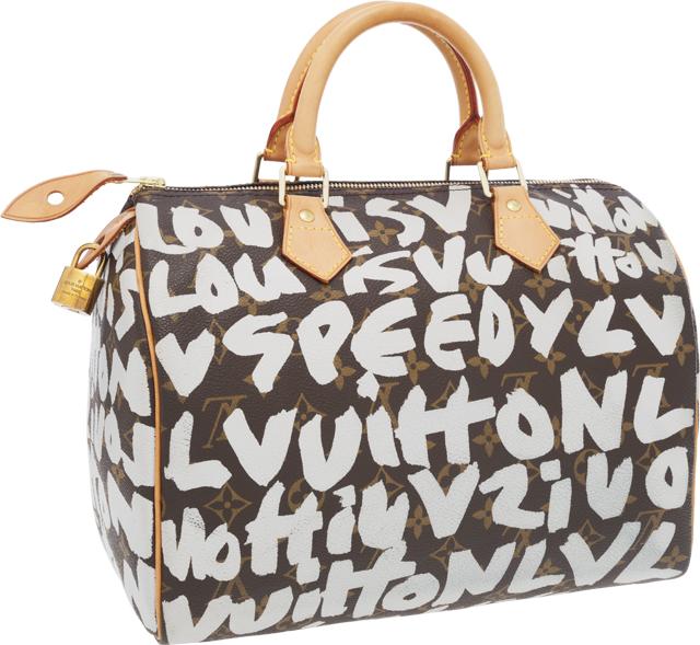 Louis Vuitton Stephen Sprouse Graffiti Speedy Bag