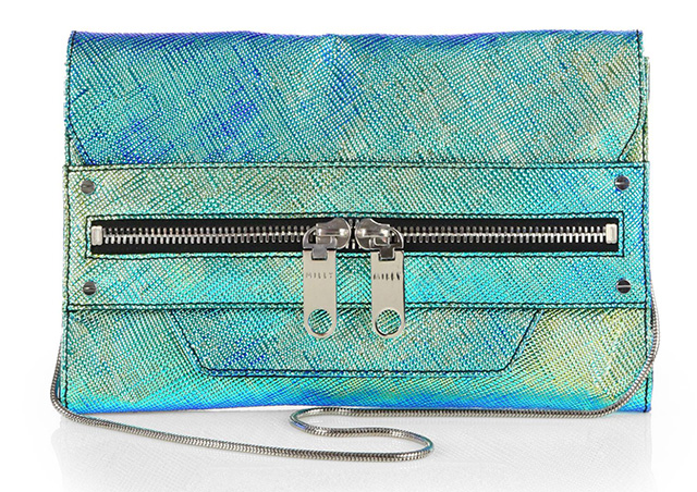 Milly Avril Zip Convertible Clutch