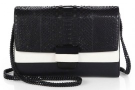 Narciso Rodriguez Mixed Media Envelope Shoulder Bag