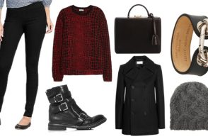 Outfit of the Week: All Black Everything (Almost)