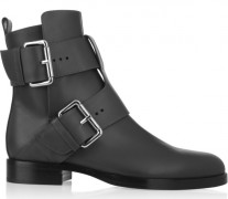 Pierre-Hardy-Buckled-Leather-Ankle-Boots