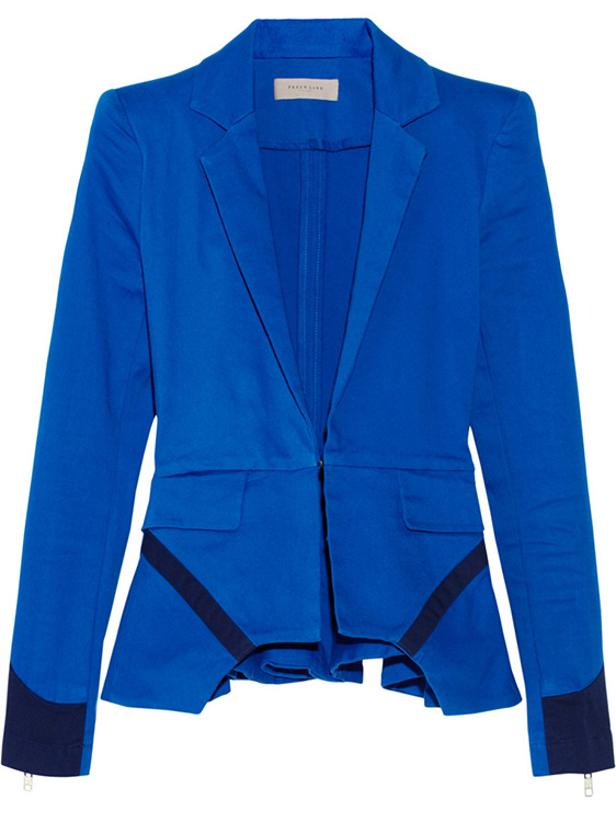 Preen Line Ives Stretch Cotton Blazer