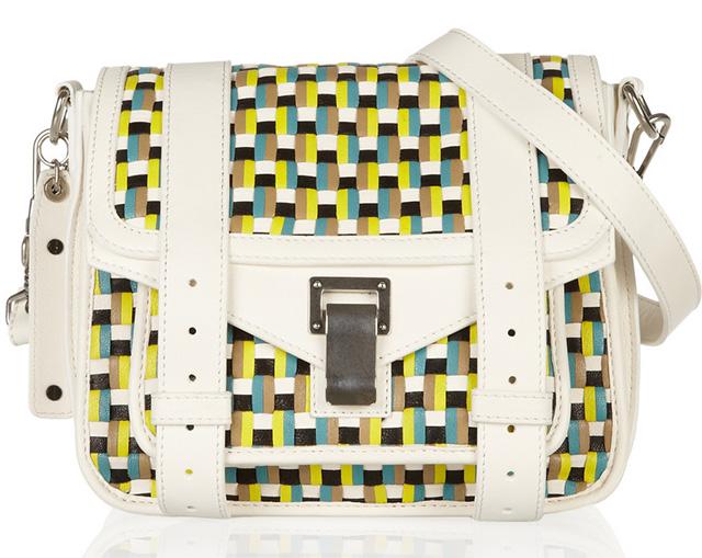 Proenza Schouler Woven PS1 Pouch Bag