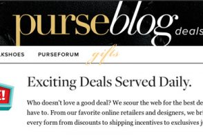 Introducing the PurseBlog Deals Page