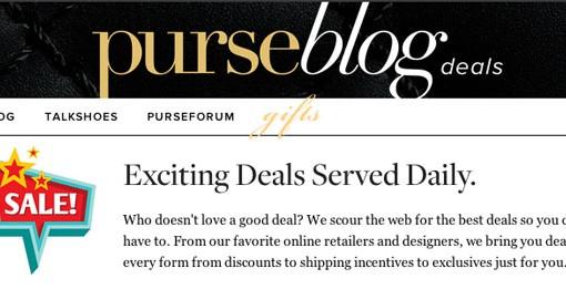 PurseBlog Deals