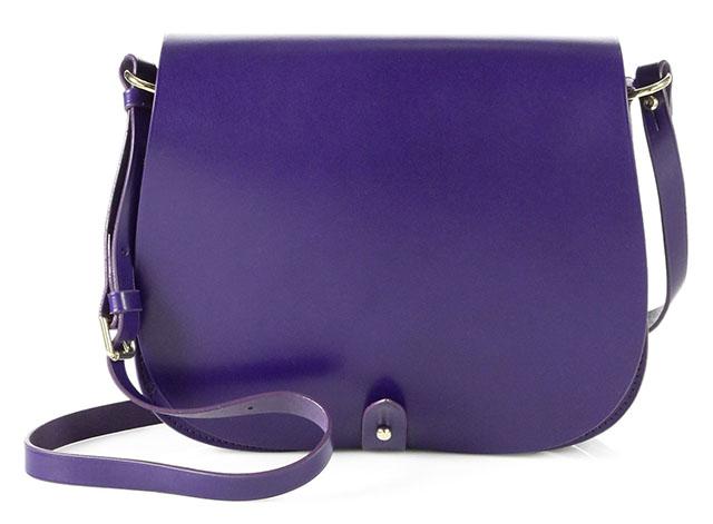 Ralph Lauren Collection Saddle Flap Shoulder Bag