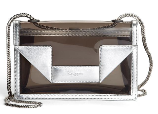 Saint Laurent Betty Mini PVC Shoulder Bag
