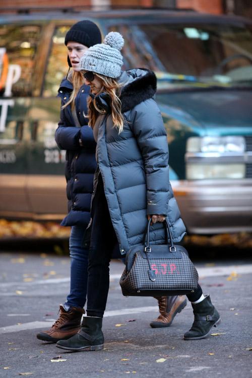 Sarah Jessica Parker Fendi Selleria Adele SJP Bag-2