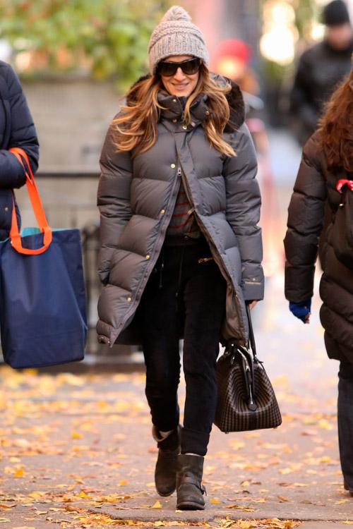 Sarah Jessica Parker Fendi Selleria Adele SJP Bag-3