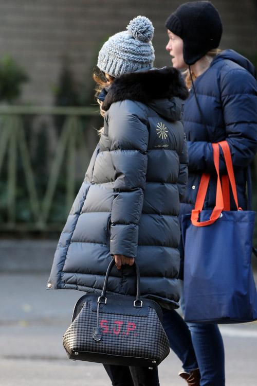 Sarah Jessica Parker Fendi Selleria Adele SJP Bag-4