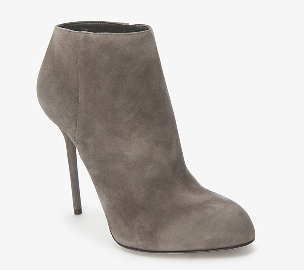 Sergio Rossi Kalika Suede Ankle Booties