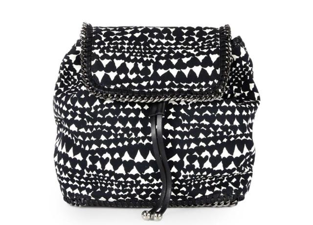 Stella McCartney Falabella Heart Backpack